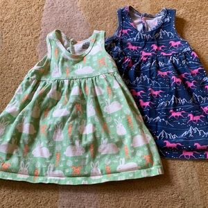 Two Winter Water Factory dresses